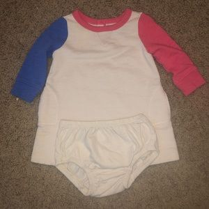 Baby Gap dress and diaper cover